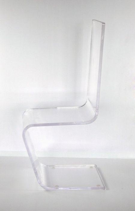 Chaise Design Zana en Acrylique