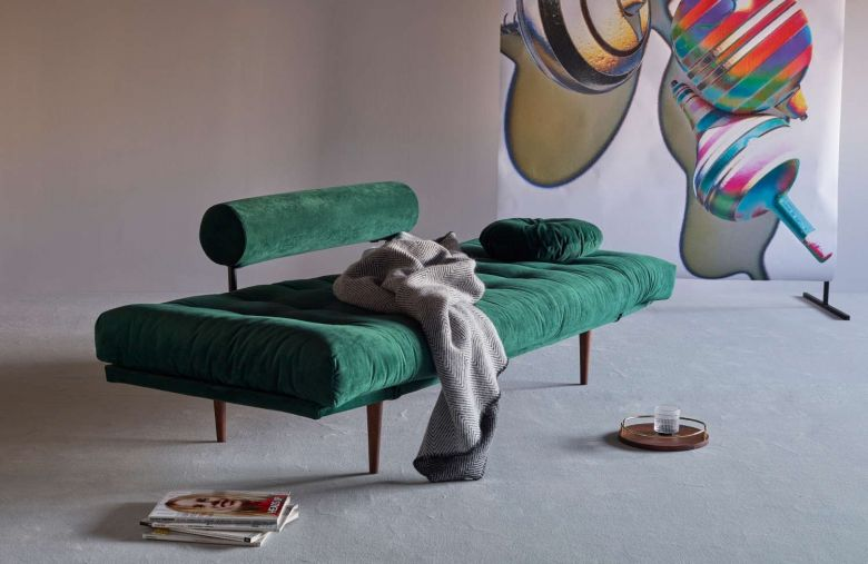 Daybed - Lit de jour ROLLO - 200 cm - Innovation - Design Flemming Hojfeldt & Per Weiss