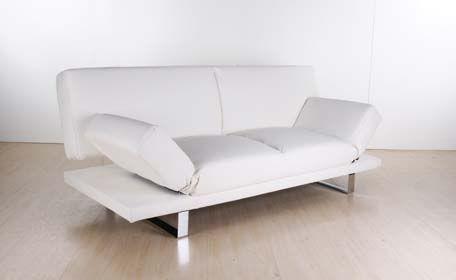 Canapé Convertible Design Vienna Blanc