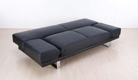 Canapé Convertible Design Vienna Noir