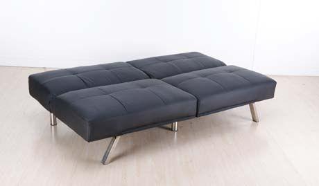 Canapé Convertible Design California Noir