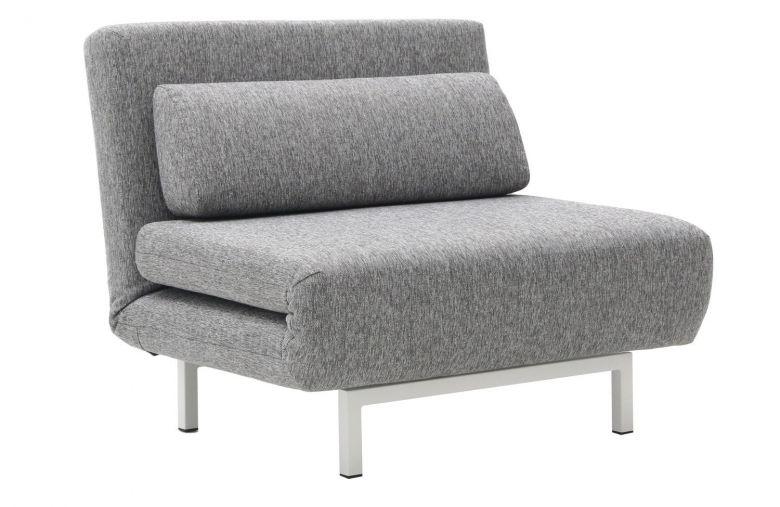 Fauteuil Convertible Design Loveseat Gris - Pivotant à 360°