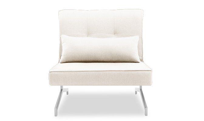 Fauteuil Convertible BZ Design Solo Blanc Cassé