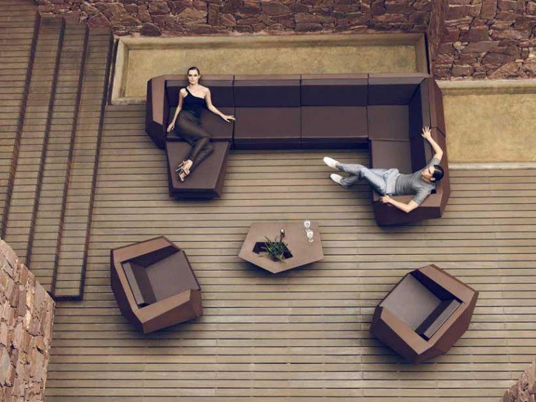 Fauteuil Faz - Design Ramon Esteve - Vondom