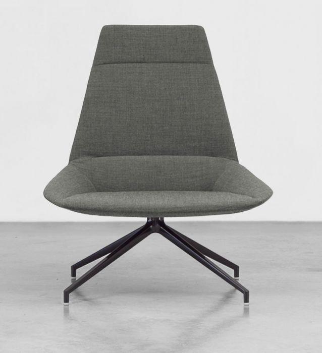 Fauteuil Lounge Pivotant DUNAS XL - Design Christophe Pillet - Inclass