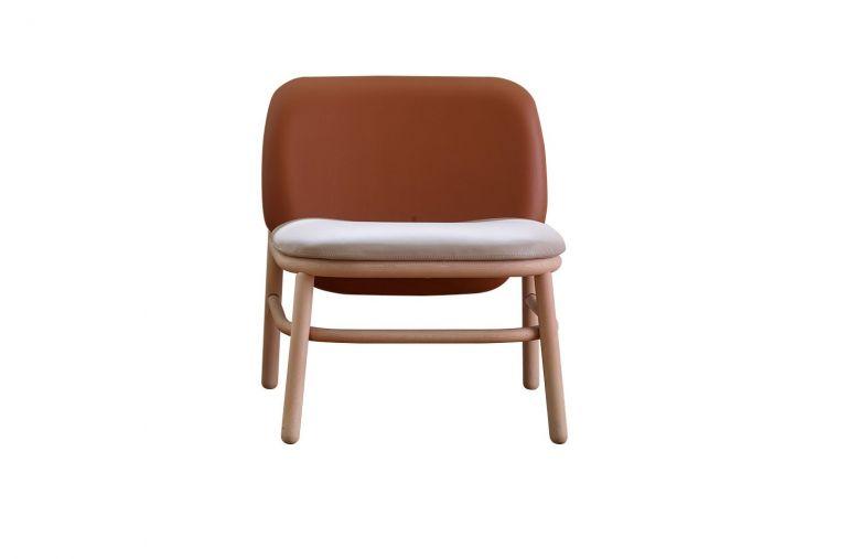 Fauteuil Pieds bois Lana - Design Yonoh - Ondarreta