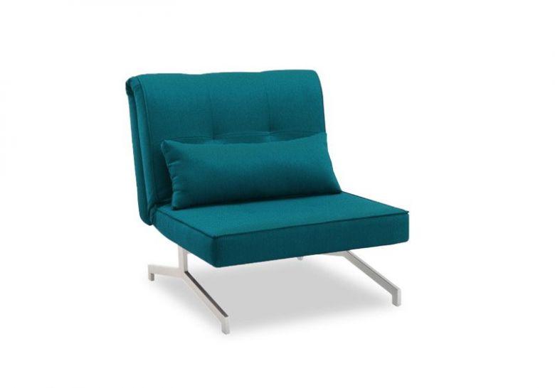 Fauteuil Convertible BZ Design Solo Bleu Turquoise