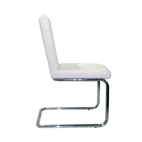 Chaise Design Kaiser Blanc (Lot de 6)