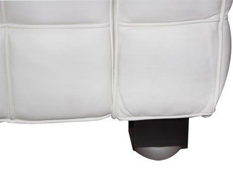 Fauteuil Design Kubus Blanc en Cuir