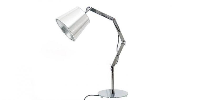 Lampe de table Design Mecano - Finition Métal
