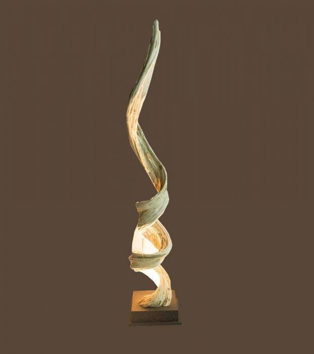 Liane Lampe Décorative Design en Bois Flotté 10C