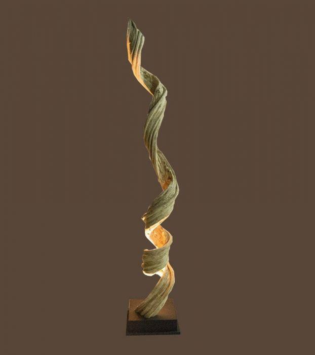 Liane Lampe Décorative Design en Bois Flotté 18C