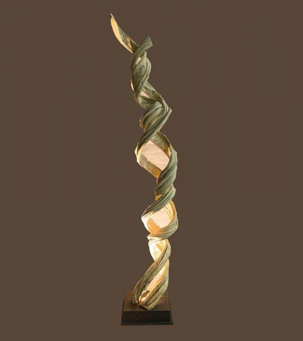 Liane Lampe Décorative Design en Bois Flotté 20C