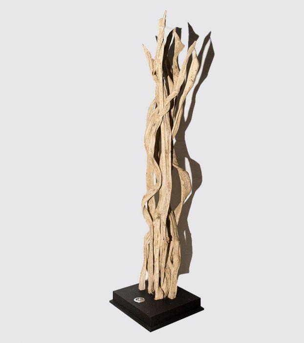 Multi Liane Lampe Décorative Design en Bois Flotté 9C