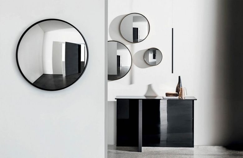 Miroir mural rond Visual - Ø 31 à 150 cm - Design Lievore Altherr Molina - Sovet