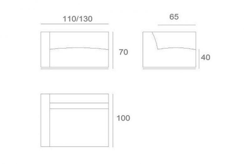 Module de Canapé G/D CLOUD - Design Prostoria