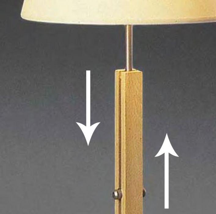 Lampe de Salon Design Nabucco - Bois Naturel