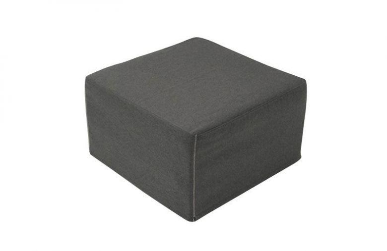 Pouf Lit Convertible Design Modulo - Gris Anthracite
