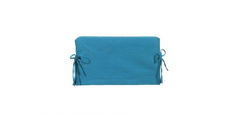 Pouf Lit Convertible Design Modulo - Bleu Turquoise