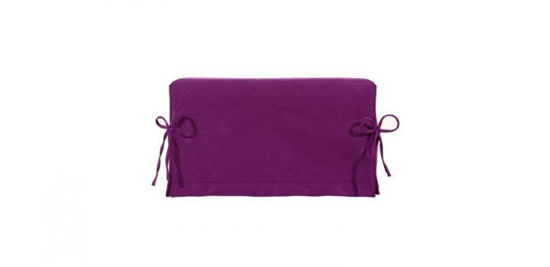 Pouf Lit Convertible Design Modulo - Violet