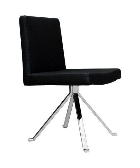 Chaise Design de Salon Quattro Noir