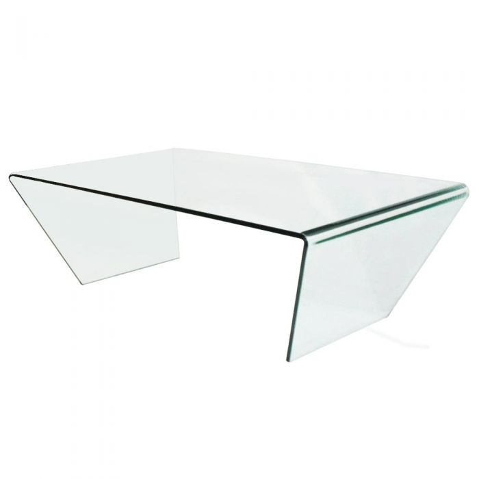 Table Basse Design Stella En Verre