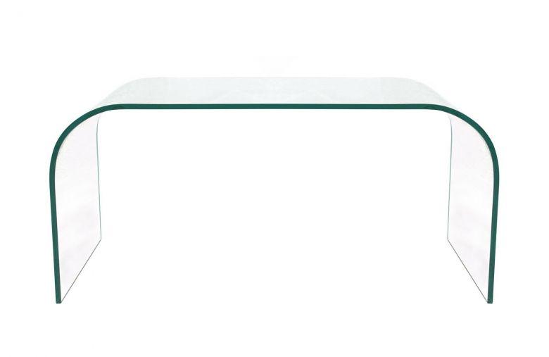 Table Basse Design Lisa En Verre - 100 cm