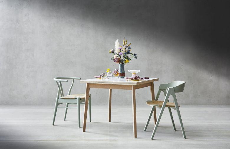 Table de repas extensible SINGLE - 90 à 180 cm - Design By HAMMEL