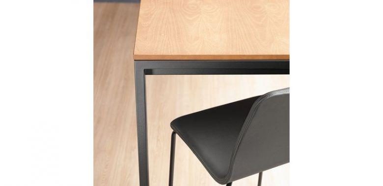 Table de Repas Rectangle à Rallonge Punto 150 - Design Ondarreta