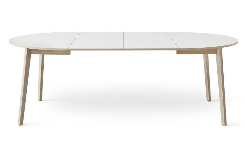 Table de repas rond extensible SINGLE - 130 cm - Design By HAMMEL