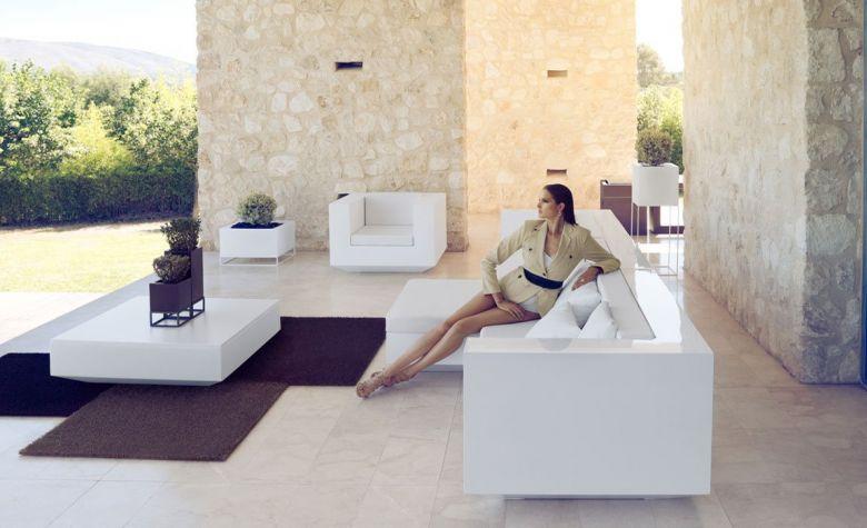 Table basse Carré Vela - Design Ramon Esteve - Vondom