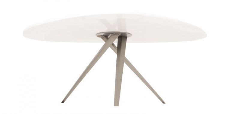 Table Basse Design Triangulaire Elin