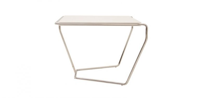 Table d'Appoint Design Yike - Blanc