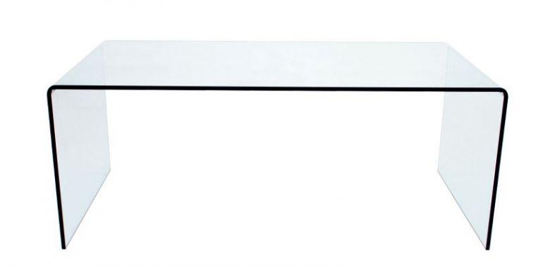 Table Basse en Verre Design Iris