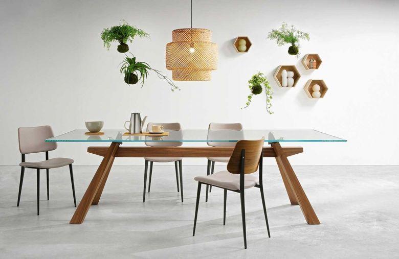 Table de repas rectangle Zeus LG - Design Maurizio et Silvia Varsi - Midj