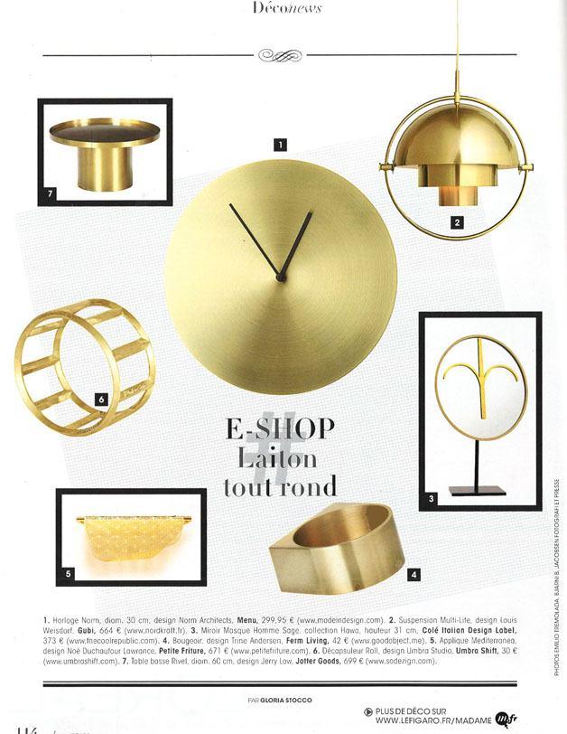 Madame Figaro - Octobre 2016