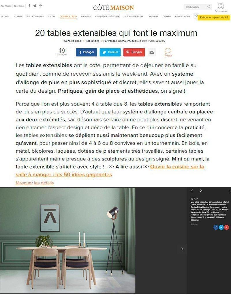 Côtémaison.fr - Novembre 2017