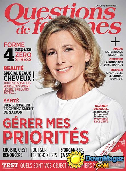 Questions de Femmes - Octobre 2014
