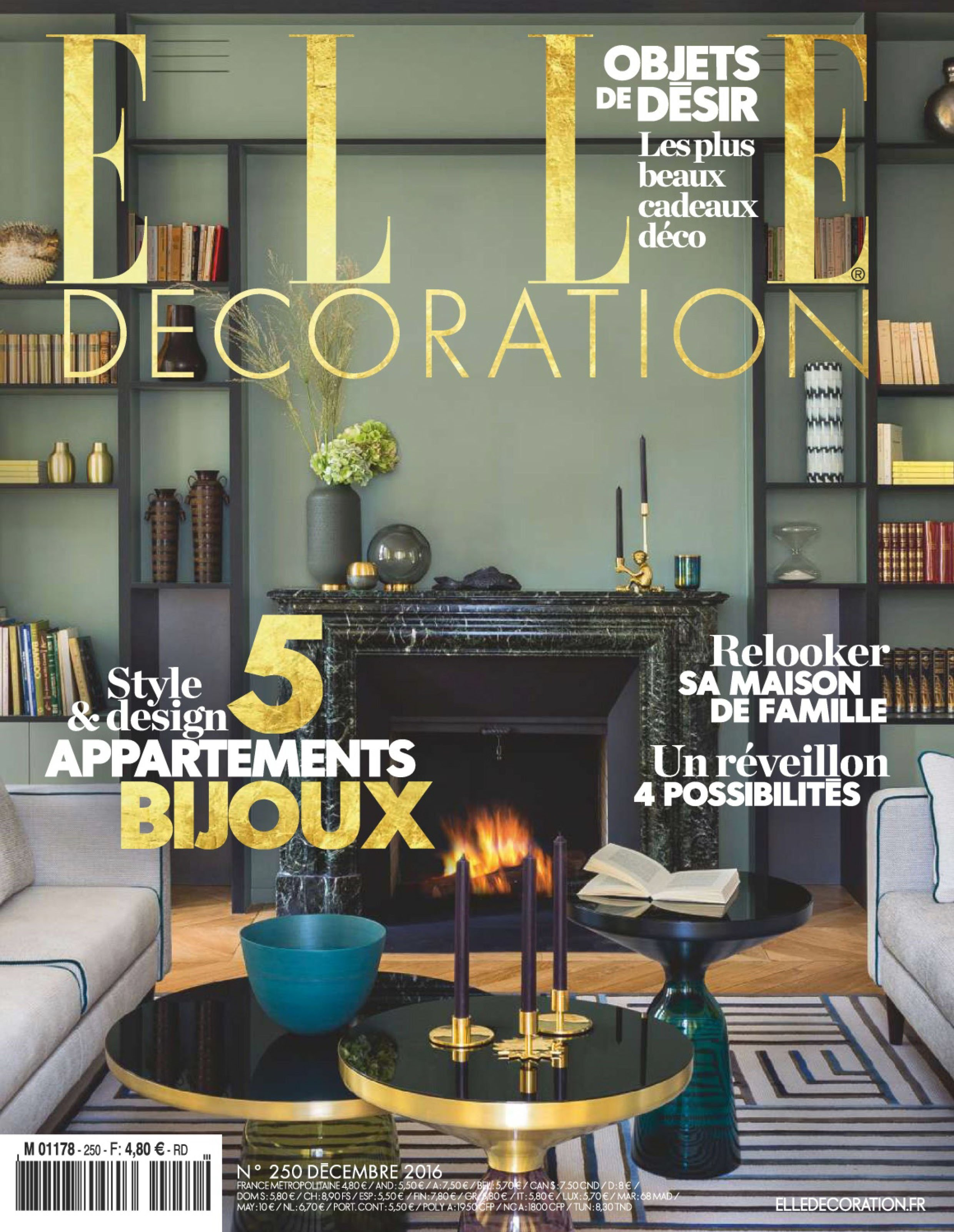 ELLE Decoration - Decembre 2016