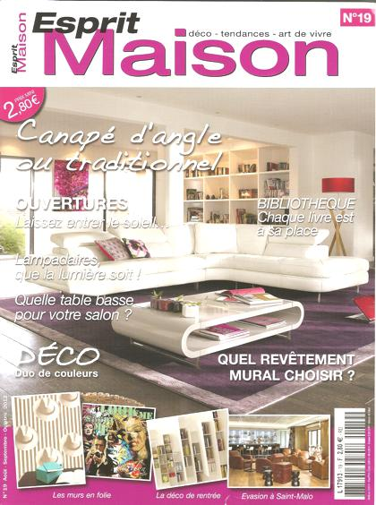 Esprit Maison - Août 2012