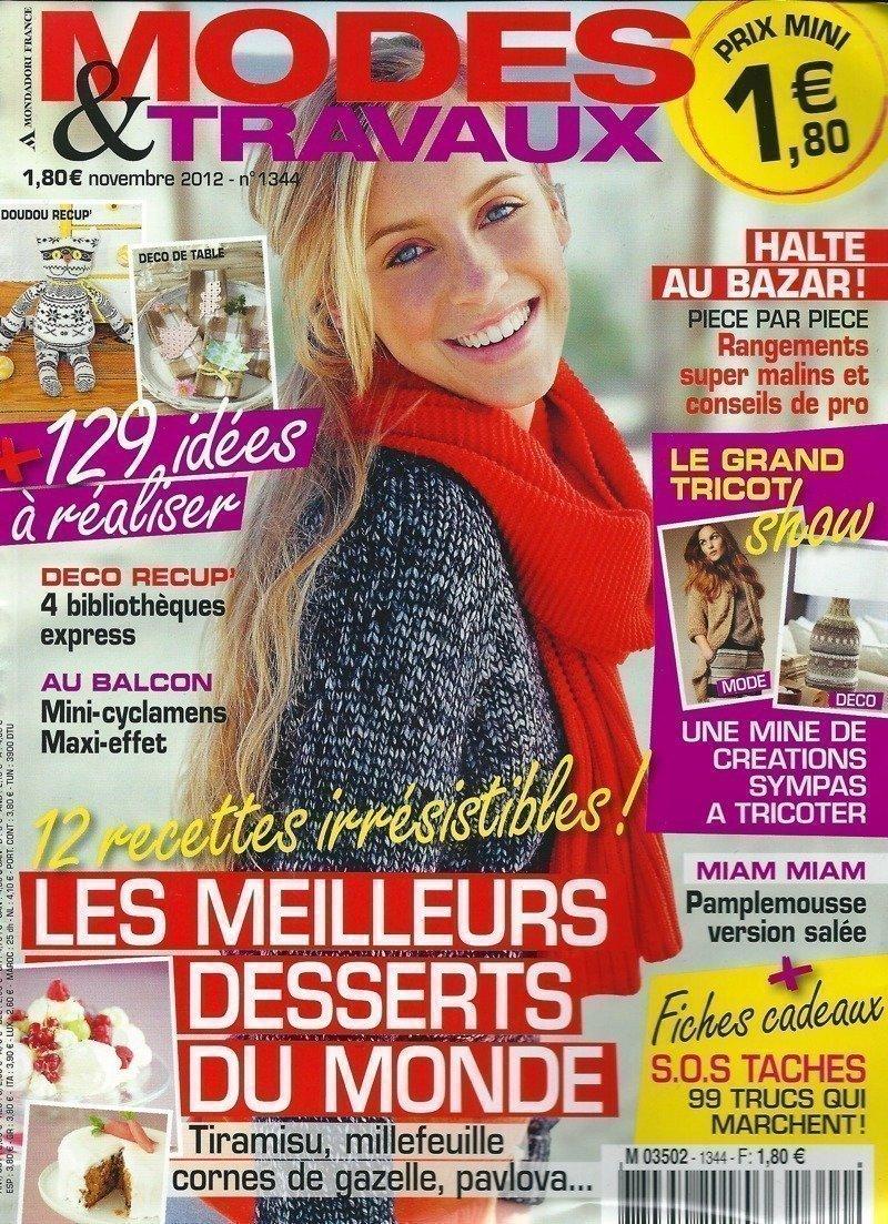 Mode & Travaux - Novembre 2012