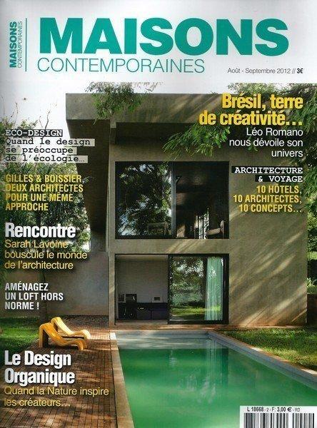 Maisons Contemporaines - Juillet 2012