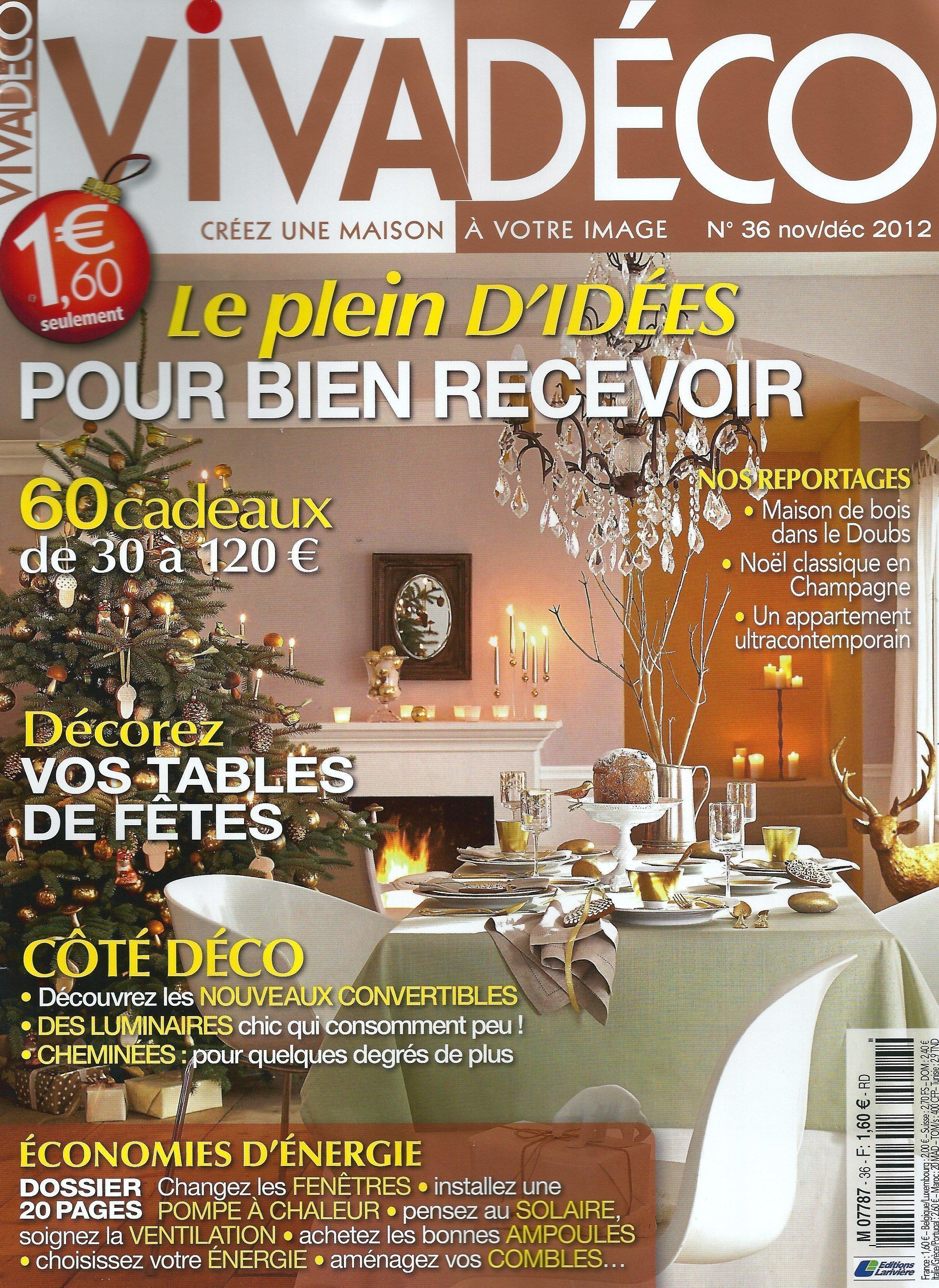 Viva Déco - Novembre / Décembre 2012