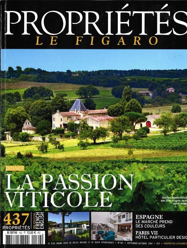 Propriétés Le Figaro - Septembre / Octobre 2016