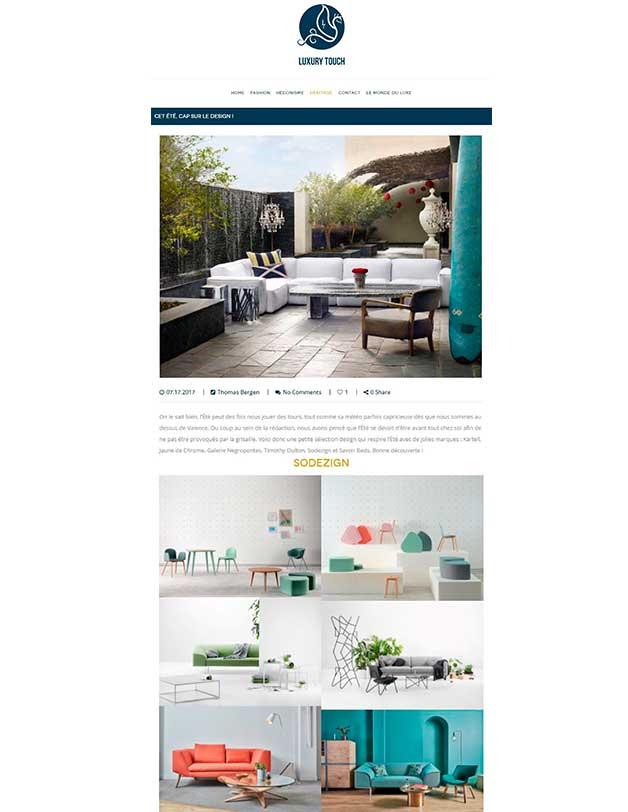Luxury-touch.com - Septembre 2017