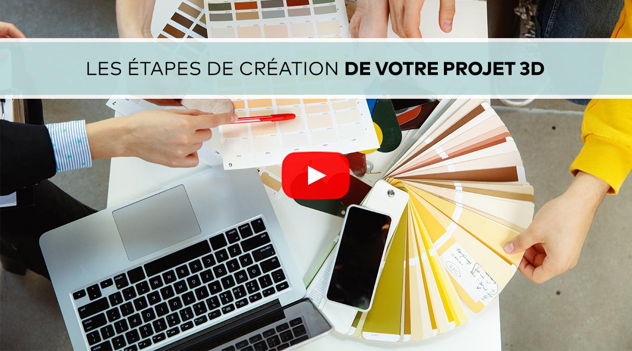 Etape création Projet 3D